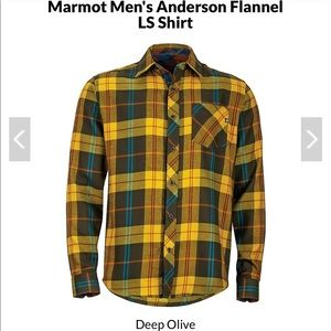 NWT Marmot Flannel Plaid Shirt Large